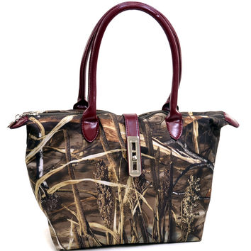 Realtree Camouflage Tote Bag with Twist Lock - 51939HP