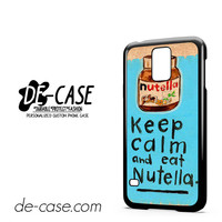 Keep Calm Nutella For Samsung Galaxy S5 Case Phone Case Gift Present