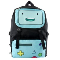 Adventure Time Nylon Waterproof Laptop Shoulder / Schoolbag Backpack