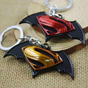 [Free Shipping] Batman v Superman Keychains