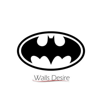 Batman Logo,  Sticker For Car Or Laptop vinyl decal, J00046.