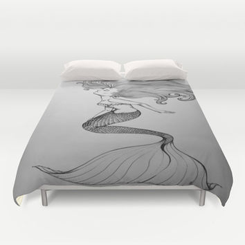 Mermaid Duvet Cover by Isabel Peace