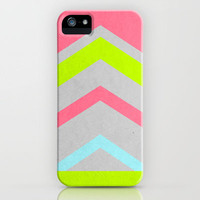 Abstract Neon iPhone Case by Stacia Elizabeth | Society6