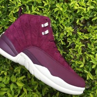 Air Jordan 12 Retro Bordeaux AJ12 Sneakers - Best Deal Online