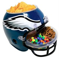 Philadelphia Eagles - Logo Snack Helmet