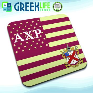 Alpha Chi Rho Coasters (set of four)