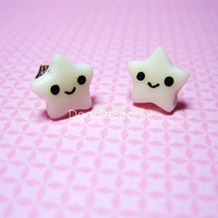 Glow in the Dark Star Kawaii Earring Studs