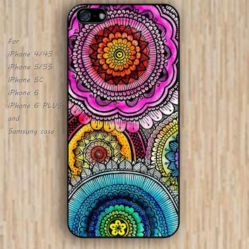 iPhone 5s 6 case Retro pattern colorful dream phone case iphone case,ipod case,samsung galaxy case available plastic rubber case waterproof B734