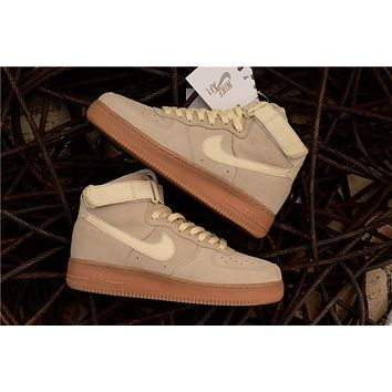 Nike Air Force 1 High ¡®07 Lv8 Suede Beige Raw Aa1118 100 | Best Deal Online