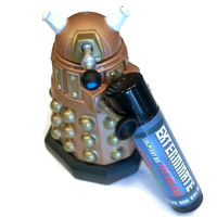 EXTERMINATE! Dalek inspired Doctor Who Lip Balm - Skaro Slime (Strawberry+Lime=Slime) Flavored Geek Stix - Shimmer