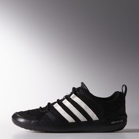 adidas Climacool Boat Lace Shoes - Black | adidas US