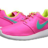 Nike Kids Roshe Run (Little Kid/Big Kid) Pink Foil/Black/White/White - Zappos.com Free Shipping BOTH Ways