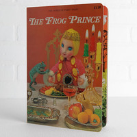 Vintage The Frog Prince 3D Puppet Book, Childrens Board Book