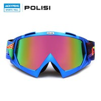 POLISI Motorcycle  Motocross Off-Road Goggles UV Protection Ski Snowboard Snow Eyewear Dirt Bike Downhill Anti-Fog Goggles
