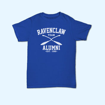 Team Ravenclaw Alumni Harry Potter Ravenclaw House Logo T-Shirt - Gift for friend - Present