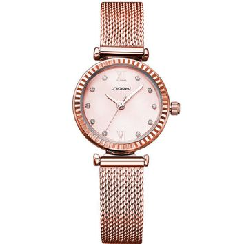 SINOBI Women Watches Luxury Diamond Watch Fashion Ladies Watches