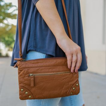 Mirth Crossbody Bag - Camel