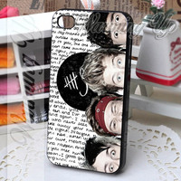 5SOS Collage Eye - IPhone 4/4s/5/5s/5c - iPod 4/5 - Samsung Galaxy s3 i9300/s4 i9500 - Case