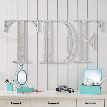 Madison Wall Letters, Glitter