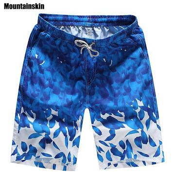 Mountainskin 2017 Men's Quick Dry Shorts 4XL Casual Summer Beach Shorts Men Women Breathable Male Shorts Brand Clothing SA202