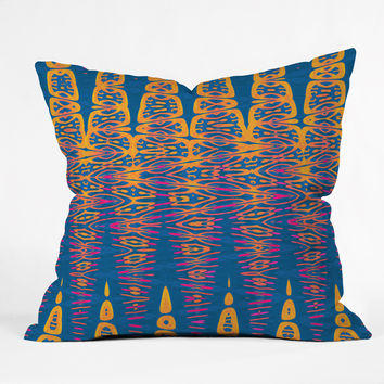 Elisabeth Fredriksson Sunset By The Sea Throw Pillow