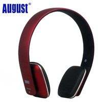 August EP636 Bluetooth Stereo Wireless Headphones with Microphone/NFC Comfortable On Ear HIFI Cordless Headset for PC,Smartphone