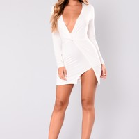 Sugar Frenzy Dress - Ivory