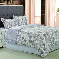 300 Thread Count Cotton Blossom Duvet Cover Set