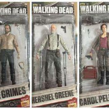 8style AMC TV Series The Walking Dead Abraham Ford Bungee Walker Rick Grimes Michonne Andrew Lincoln  Action Figure Toys