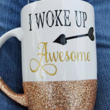 Bitches get shit done, Get shit done, Adult humor mug, Glitter dipped mug, Glitter mug, Bitches mug, Badass, Ceramic mugs, Coffee