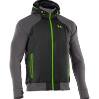 Under Armour Men's ColdGear Infrared Armour Fleece Storm Hybrid Full Zip Hoodie