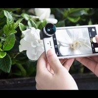 4-in-1 iPhone Camera Lens by olloclip