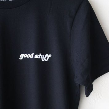 Good Stuff Tee - Black