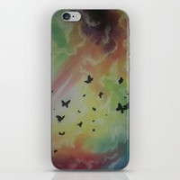 THE DANCE OF BUTTERFLIES iPhone & iPod Skin by Dim_kad