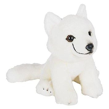 "Wildlife Tree 9"" Stuffed Arctic Fox Plush Floppy Animal Heirloom Collection"