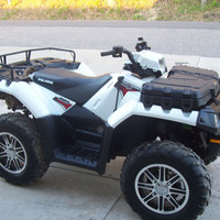 2011 Polaris Sportsman 550 XP EPS, Limited Edition, winch, power steering, SHARP