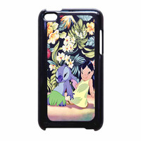 Lilo And Stitch Dancing Floral iPod Touch 4th Generation Case