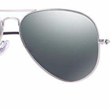 Ray Ban RB3025 Non Polarized Metal Aviator Sunglasses