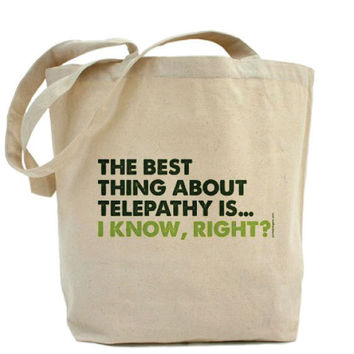 The Best Thing About Telepathy IsI Know by PamelaFugateDesigns