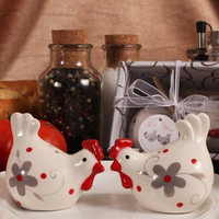 Kitchen Chickens Salt & Pepper Shakers