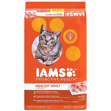 Iams ProActive Health Original with Chicken Adult Cat Food | Petco