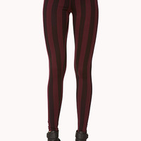 Vertical Stripe Leggings