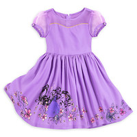 Rapunzel Woven Dress for Girls | Disney Store