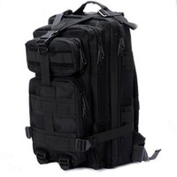 Eyourlife Sport Outdoor Military Rucksacks Tactical Molle Backpack Camping Hiking Trekking Bag-Black