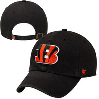 Cincinnati Bengals '47 Brand Cleanup Adjustable Hat – Black