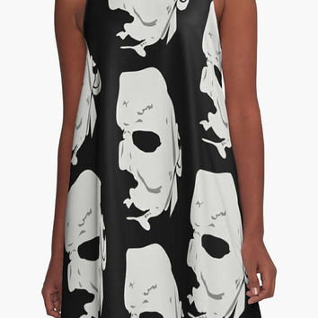 Horror Movies Dress / clothing fashion / women womenswear / Jason, Scream Ghostface, Wednesday Addams, Michael Myers Halloween