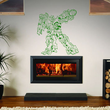 Transformers decal Superheroes stickers Vinyl Stylish Wall Art Sticker 10371