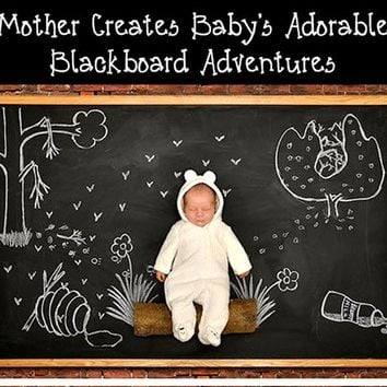 Wallpapers Youman Creative Chalkboard Stickers Removable Self Adhesive Blackboard Vinyl Decor For Kids Rooms With Regular Chalks