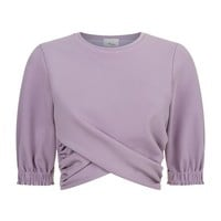 3.1 Phillip Lim Twist Front Cropped Top | Harrods.com