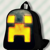 Creeper Minecraft - Custom SchoolBags/Backpack for Kids.